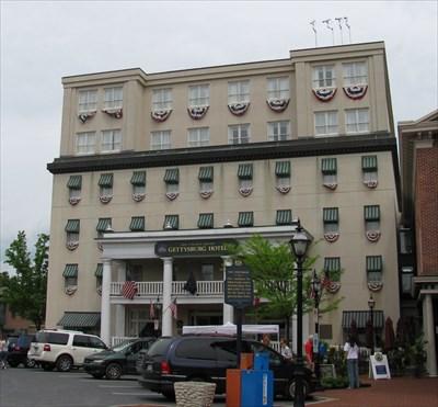 the gettysburg hotel gettysburg pa antique hotels on. Black Bedroom Furniture Sets. Home Design Ideas