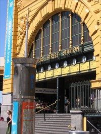 Flinders Street Station is a notable Melbourne landmark known throughout the world, not just on the Australian Monopoly board.