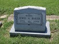Image for 100 - Jewel A. Baker - Flower Mound Cemetery - Flower Mound, TX