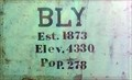 Image for Bly, OR - Elev. 4330