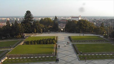 This is a screenshot from view number 8 of web camera Slavín (17-09-2014).