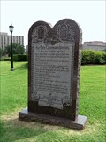 Image for Texas State Capitol's Ten Commandments Monument - Austin, TX