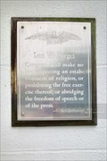 Image for Constitution of the United States - First Amendment - Woonsocket, Rhode Island
