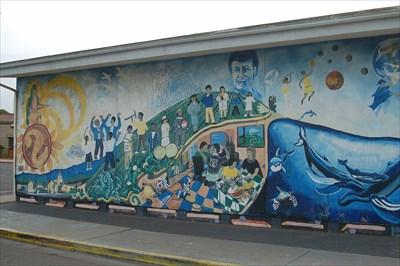Guadalupe elementary school mural guadalupe california for California mural