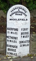 Image for Milestone - Great North Road, Micklefield, Yorkshire, UK.