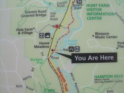 Ira Trailhead Kiosk : Cuyahoga Valley National Park, OH