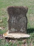 Image for Mrs. Mattie Wright - Balch-Senterwood Cemetery - Alvarado, TX