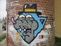Image for Graffiti na rozhledne Komin - Brno, Czech Republic