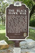 Image for The Black Hawk War/Black Hawk's Grove Historical Marker