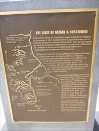 Bataan-Corregidor Memorial - FEPOW - Lakefront Park - Kissimmee - Florida, USA.