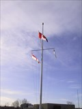 Image for The Military Museums' Flag Pole - Calgary, Alberta