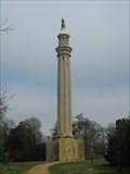Image for Lord Cobham's Pillar - Stowe Landscape Gardens, Buckinghamshire, UK