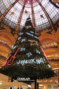 Image for Christmas tree, Paris - France