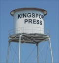 Image for Kingsport Press remaining water tower - Kingsport, TN