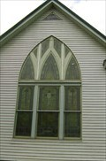 Image for Large Gothic Window - Wesley Chapel - near Pilot Grove, MO