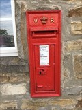Image for Victorian Wall Post Box - Burtersett, near Hawes, Yorkshire, UK