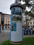 Image for Classic Litfaßsäule - Feuerseeplatz - Stuttgart, Germany, BW