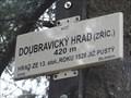 Image for 420m - Doubravicky hrad (zricenina), Czech Republic