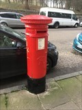 Image for Victorian Pillar Box - Royal Park Terrace, Edinburgh, Lothian, UK