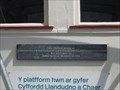 Image for Station House Plaque - Llanfairpwllgwyngyllgogerychwyrndrobwllllantysiliogogogoch, Anglesey, North Wales, UK