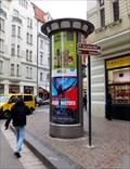 Image for Moderní reklamní sloup - Kaprova - Praha, CZ