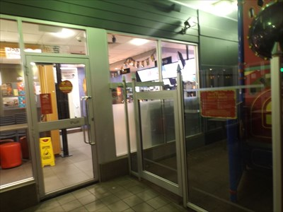Entering the McDonalds on Tuesday night - 10 May, 2016