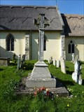 Image for Combined WWI and WWII wheel cross - St Andrew - Bramfield, Suffolk