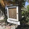 Image for Little Free Library at 1803 Capistrano Street - San Diego (Point Loma Heights), CA