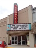 Image for Stovall Theatre - Route 66, Sayre, Oklahoma. USA.