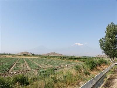 Lesser and Greater Ararat - Lusarat (Ararat province - Armenia)