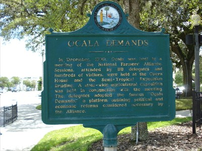 Ocala Demands - Florida Historical Markers on Waymarking.