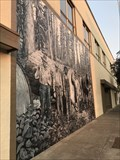 Image for Much loved logging mural returns to downtown Klamath Falls