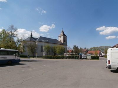 TB 1504-33 Nechanice, kostel