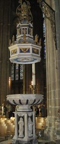 Image for Font - Canterbury Cathedral, Canterbury, Kent, UK