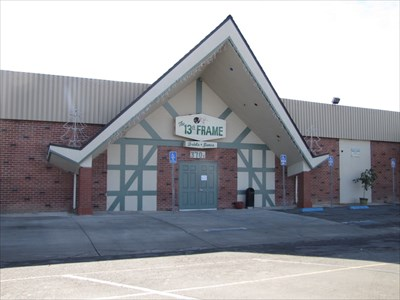 La Habra Bowl 13th Frame Lounge, Whittier, California