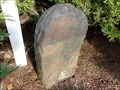 Image for Franklin Mile Marker - 69 Miles From Boston - 1767 Milestones - West Brookfield, MA
