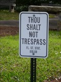 Image for Not Your Usual No Trespassing Sign - Jacksonville, FL