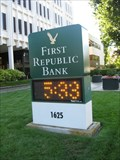 Image for First Republic Bank Sign - San Jose, CA