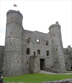 Harlech Castle - Lookout Tower