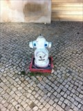 Image for Pink-eyed hydrant, Lisbon, Portugal