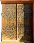 Image for Doorways of St Martin's church, Ammerschwihr, Haut-Rhin/FR