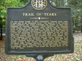 Image for Trail of Tears Marker at New Echota