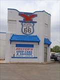 Image for The 'Y' Service Station - Clinton, Oklahoma, USA.