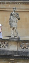 Image for Emperor Hadrian -- Roman Baths, Bath, Somerset, UK