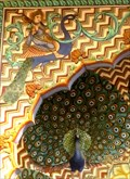 Image for Peacock Gate Mural - Jaipur, Rajasthan, India