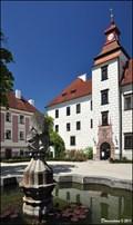 Image for Trebon Chateau Fountain / Kašna Trebonského zámku - Trebon (South Bohemia)