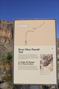 Image for Lower Burro Mesa Trailhead -- Ross Maxwell Scenic Drive, Big Bend NP, TX