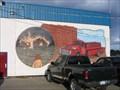 Image for Mural on Valemount Firehall  -  Valemount, BC