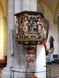 Image for Sandstone pulpit in the Basilica of St. Castor - Koblenz, RLP / Germany