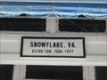 Image for Snowflake, VA - Elevation 1586 feet